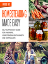 Homesteading Made Easy (eBook): Boxed Set